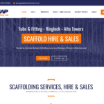 Welcome to Our New Website: ASAP Scaffolding Ltd